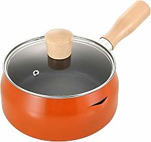 Milk Pan Stainless Steel Butter Warmer Pan with