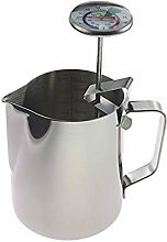 Milk Thermometer and 600ml Milk Jug for Perfect