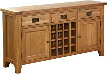 Millais Petite Bar Cabinet Union Rustic
