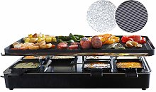 Milliard Raclette Grill for Eight People, Includes