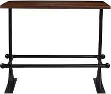 Milliken Wooden Bar Table Union Rustic