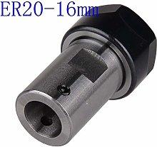 Milling Bit Motor Shaft Collet Chuck ER20 a 16mm