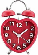 Millya UK 3 Inch Alarm Clock Cute Twin Bell Loud