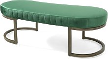 Milo Upholstered Bench Canora Grey Upholstery: