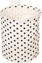 Milopon Fabric Storage Basket Laundry Basket