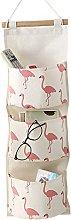 Milopon Flamingos Storage/Container Organizer