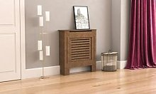 Milton Radiator Cover: Unfinished/Small