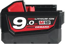 Milwaukee M18B9 18V 9.0Ah Lithium-Ion Battery