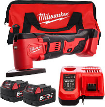 Milwaukee M18BMT-0 18V Compact Multi Tool with 2 x