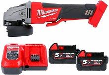 Milwaukee M18CAG115XPDB 18v Fuel Angle Grinder