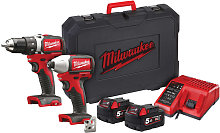 Milwaukee Power Tools - M18 BLPP2A2 Brushless Twin