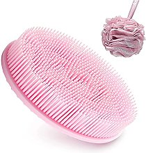mimiliy Exfoliating Silicone Body Scrubber with