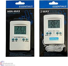 Min Max Hydro or Temperature meter Hydroponic Grow