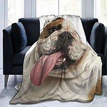Minalo Throw Blanket Lightweight Soft Warm,Brown