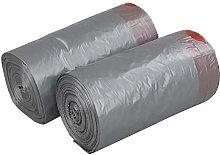 Minekkyes 10L Small Drawstring Bin Liners, Grey