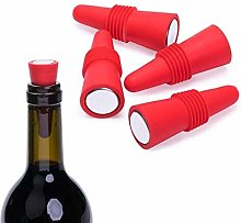 Miner Silicone Seasoning Red Wine Suction Stopper