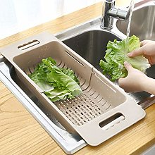 MineSpace Collapsible Kitchen Colander Sink Basket