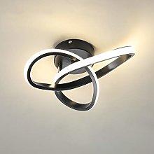 minfair Modern LED Ceiling Light,Round Geometry