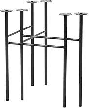 Mingle Large Pair of trestles - / L 68 cm by Ferm