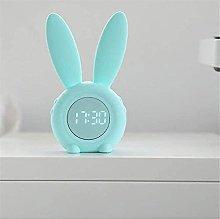 MingXinJia Home Bedside Clocks Bunny Alarm Clock