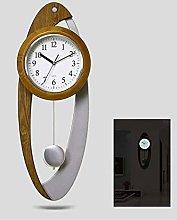 MingXinJia Home Bedside Clocks Luminous Pendulum