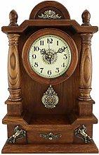 MingXinJia Home Bedside Clocks Mantel Clocks,