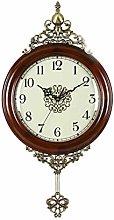 MingXinJia Home Bedside Clocks Pendulum Clock,