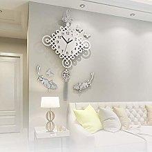 MingXinJia Home Bedside Clocks Pendulum Wall