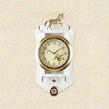 MingXinJia Home Bedside Clocks Pendulum Wall