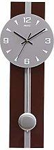 MingXinJia Home Bedside Clocks Rectangular Wall