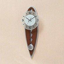 MingXinJia Home Bedside Clocks Silent Pendulum