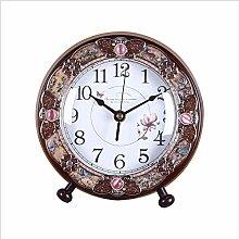 MingXinJia Home Bedside Clocks Table Clock,