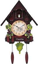 MingXinJia Home Bedside Clocks Vintage Lock,