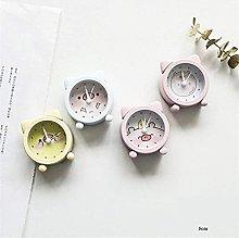MingXinJia Home Bedside Clocks Vintage Portable
