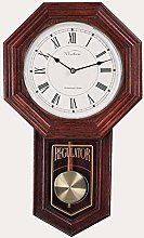 MingXinJia Home Bedside Clocks Wall Clock Pendulum