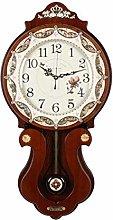 MingXinJia Home Bedside Clocks Wall Clock, Shell