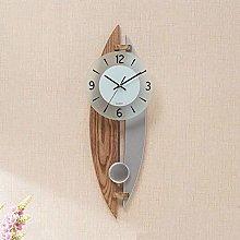 MingXinJia Home Bedside Clocks Wood Pendulum