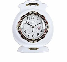 MingXinJia Home Bedside Clocks Wooden Table Clock,