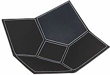 MingXinJia Household Storage Bowls Black Leather