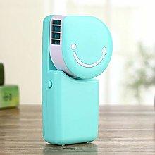 Mini Air Conditioner Mini USB Fan Smile Face Fan