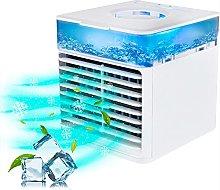Mini Air Conditioner, Small Portable USB Air