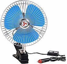 Mini Car Fan, 12V/24V 25w Car Cooling Fan Wind Air