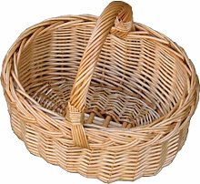 Mini Car Shopping Wicker Basket Brambly Cottage