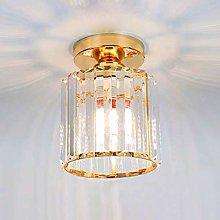 Mini Chandelier Crystal Ceiling Lighting Semi