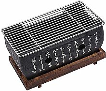 Mini Charcoal BBQ Grill,Portable Table Top
