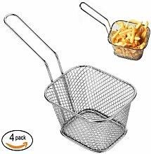 Mini Chip Baskets Kitchen Stainless Steel Fryer