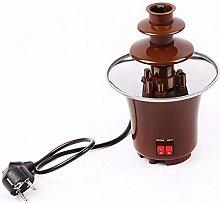 Mini Chocolate Fountain Fondue 3-Tier Electric