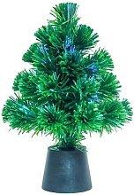 Mini Christmas Tree with USB Powered Colour Fibre