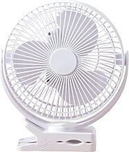 Mini Desk Fan Clip Fan 10000mAh 4 Modes 360°