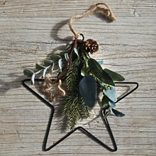 Mini Dressed Nordic Star Christmas Decoration,